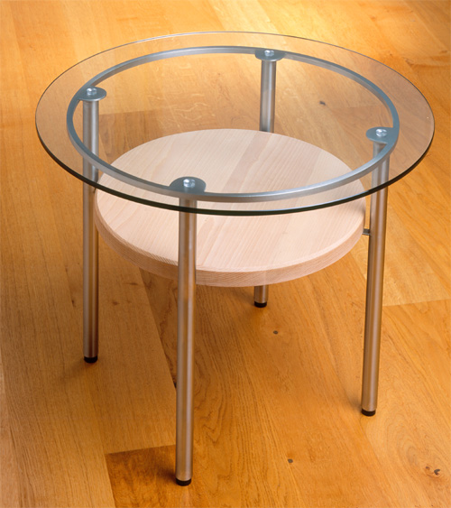 Argentia metal coffee table: click for details and larger image