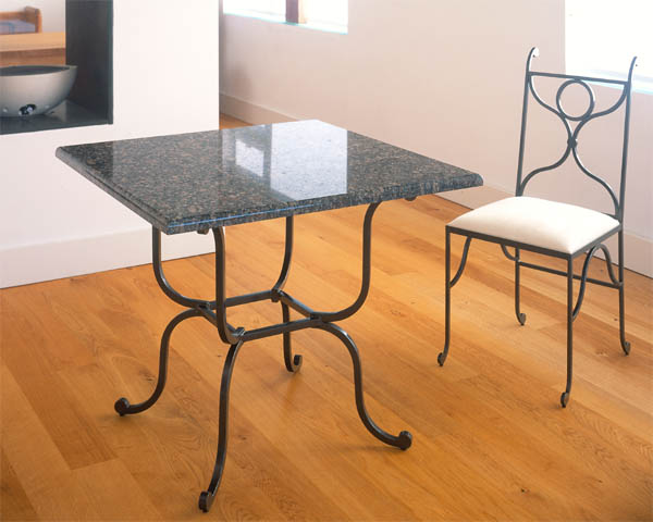 Thurston metal               table from PMF Designs